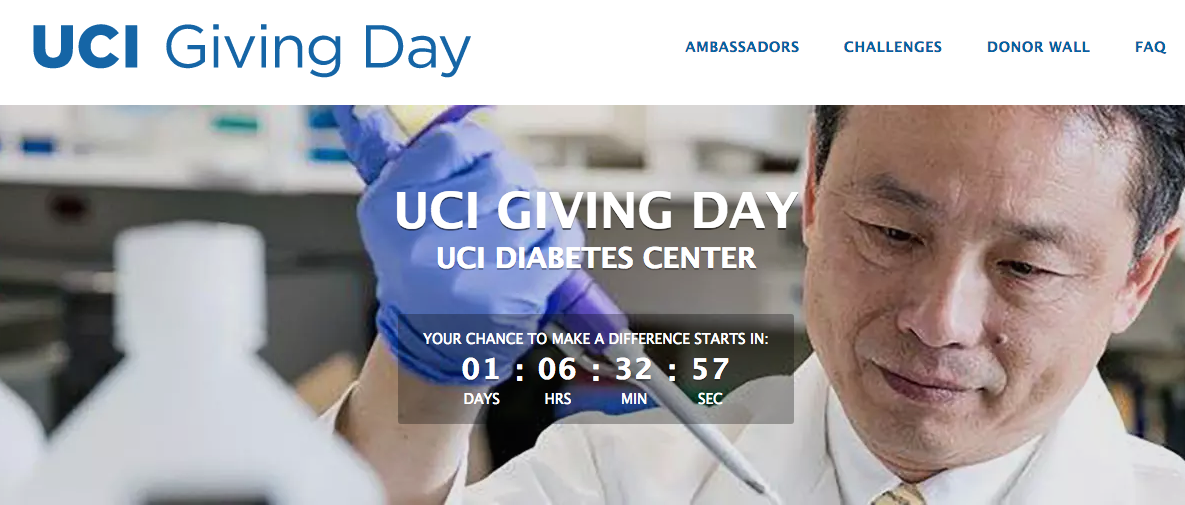 On Giving Day, When You Support the Diabetes Center, We All Gain